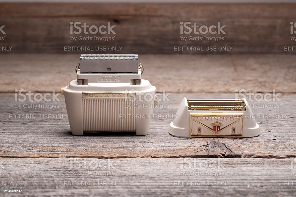 Remington Shaver without guard stock photo