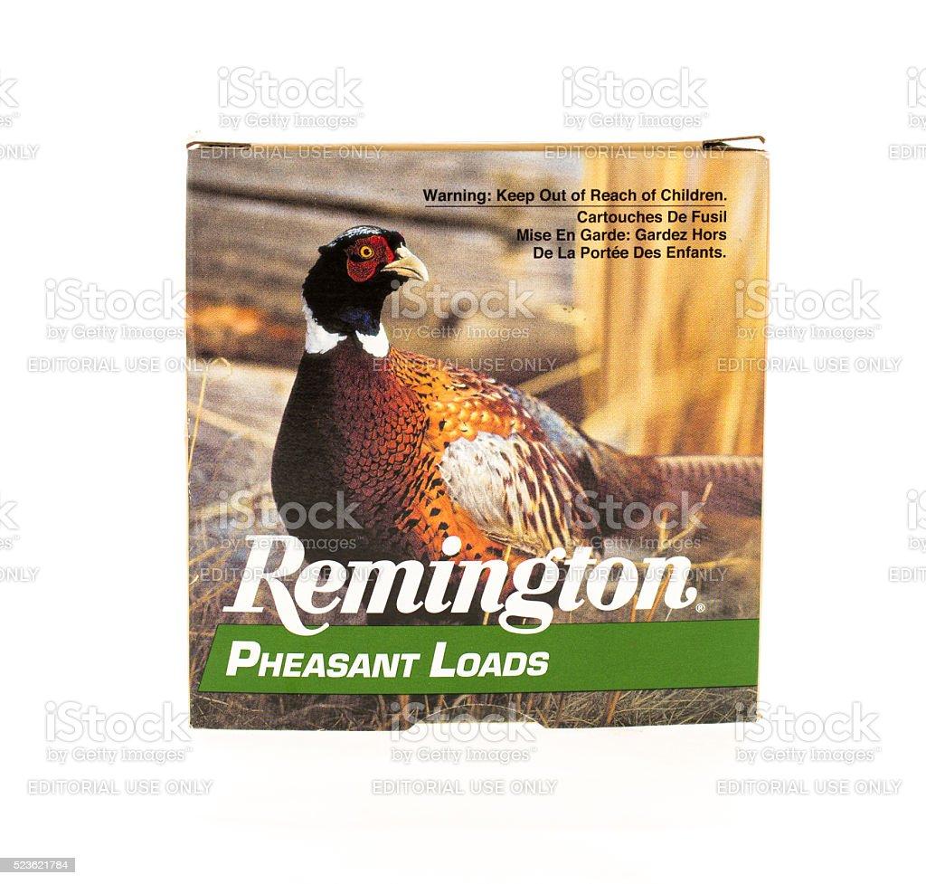 Remington Shutgun Shells stock photo