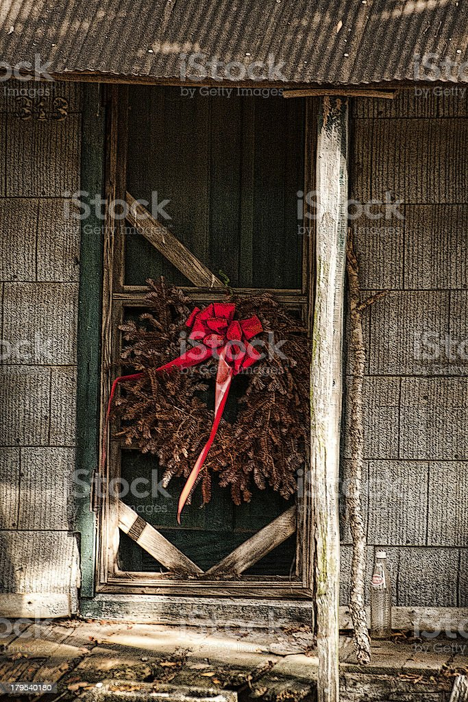 Remnants Of Christmas Past royalty-free stock photo