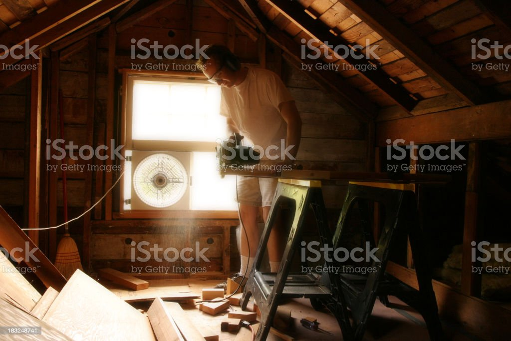 Remodel royalty-free stock photo