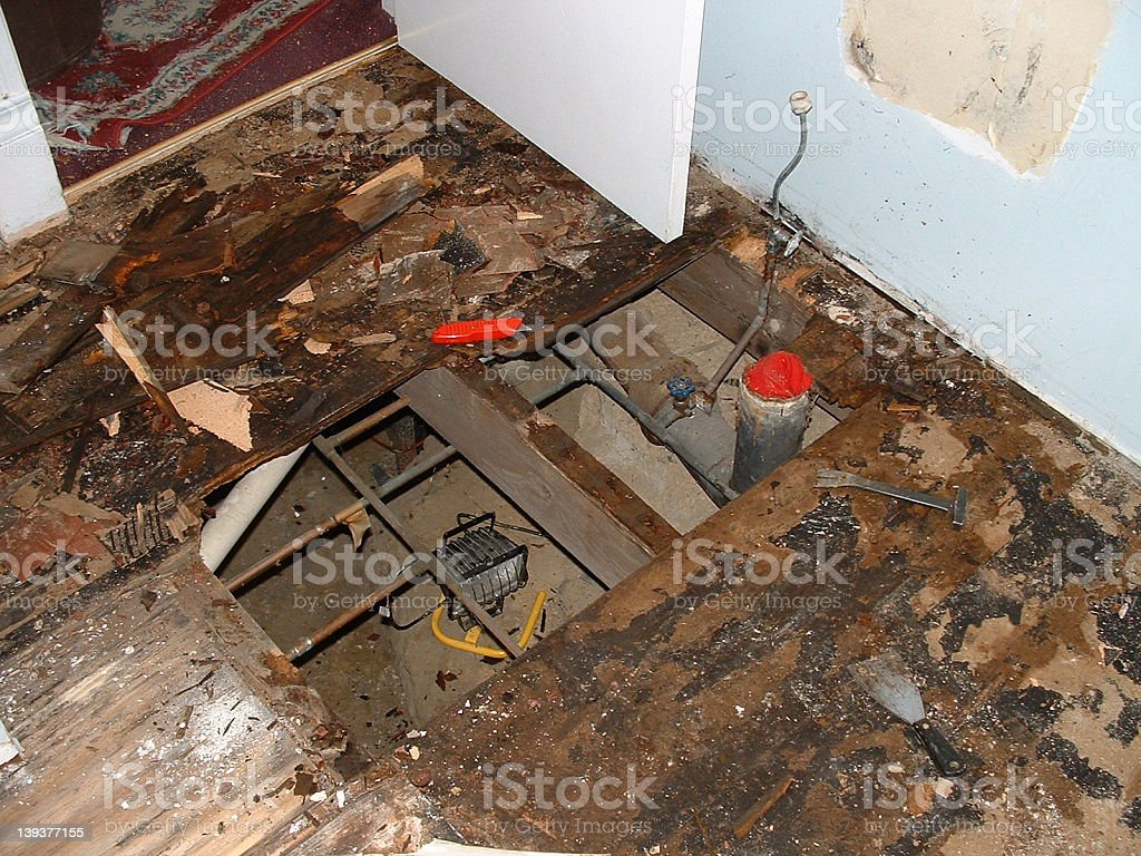 Remodeling Nightmare royalty-free stock photo