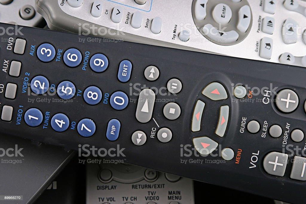 Remote 5 stock photo