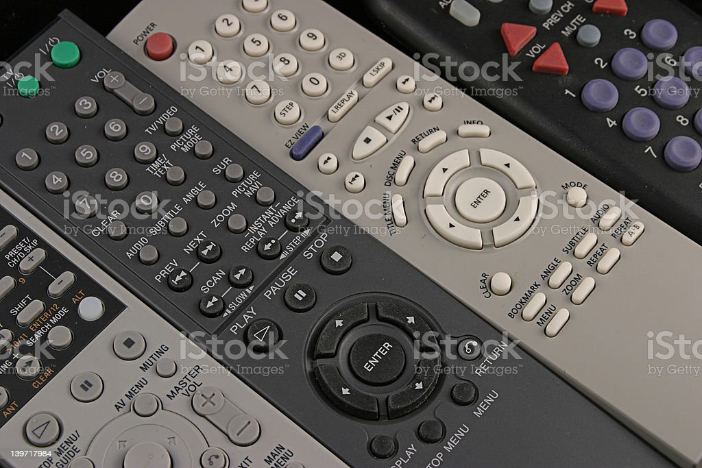 Remote 9 royalty-free stock photo