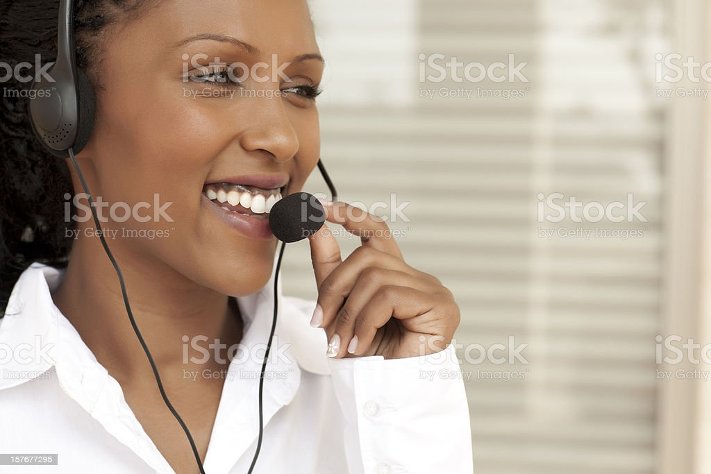 Remote assistance service. royalty-free stock photo