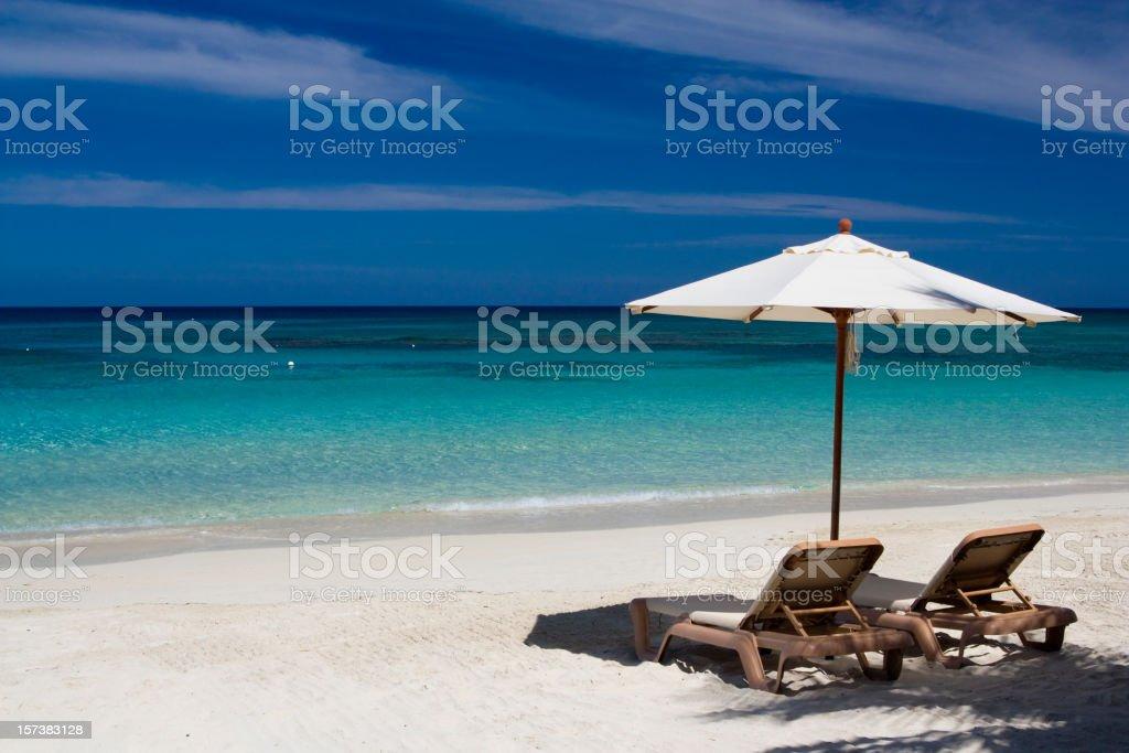 Remote beach royalty-free stock photo