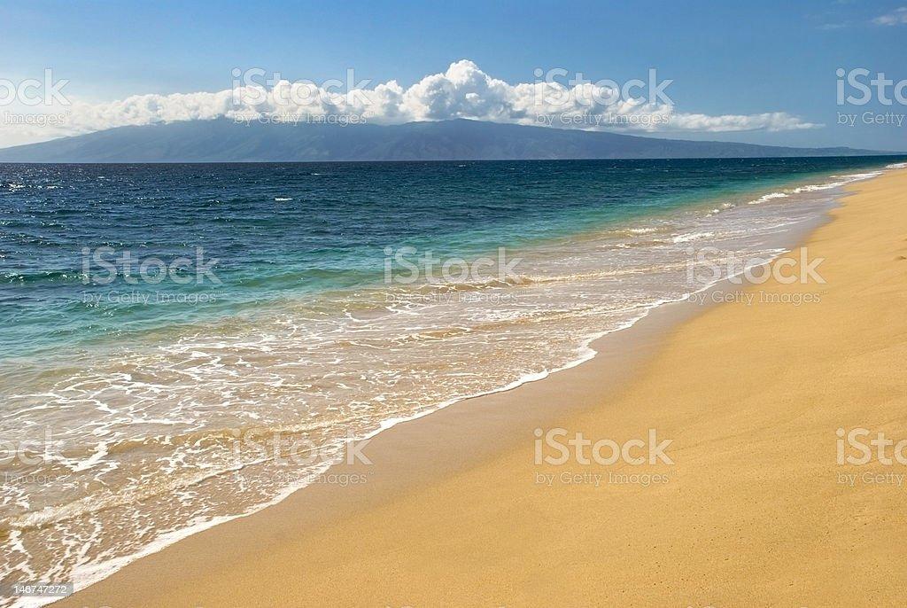 Remote Coastline Empty of People royalty-free stock photo