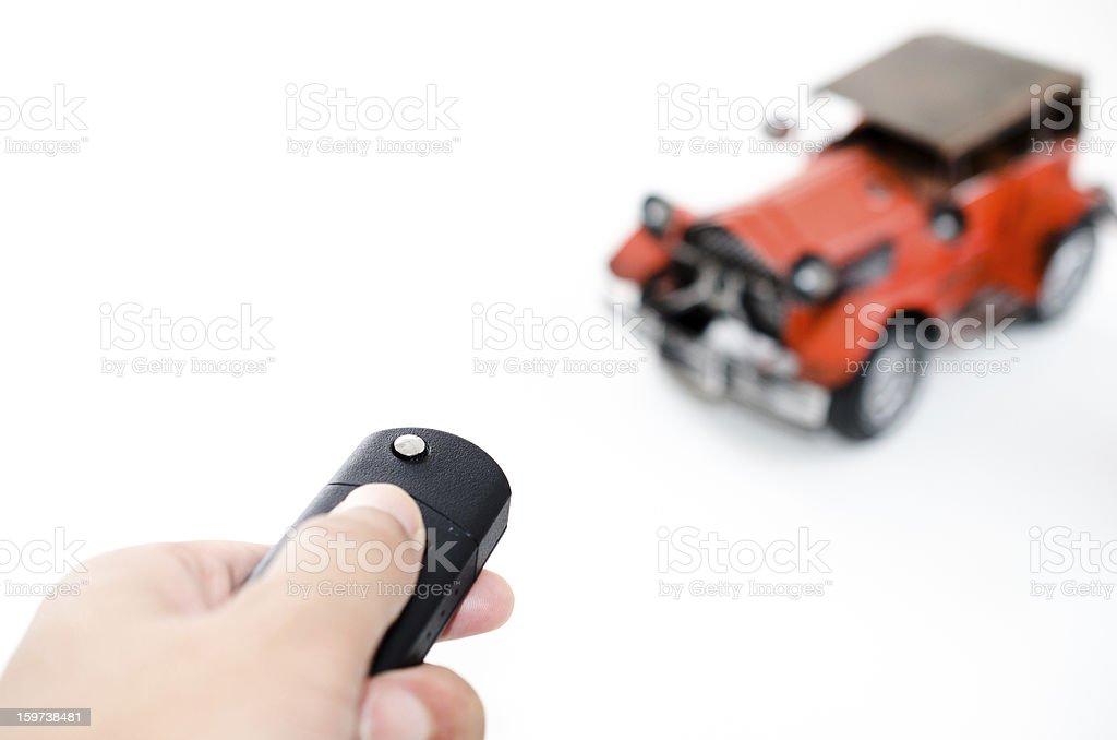 remote control a bubble car stock photo