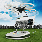 Remote control drone and flight controller
