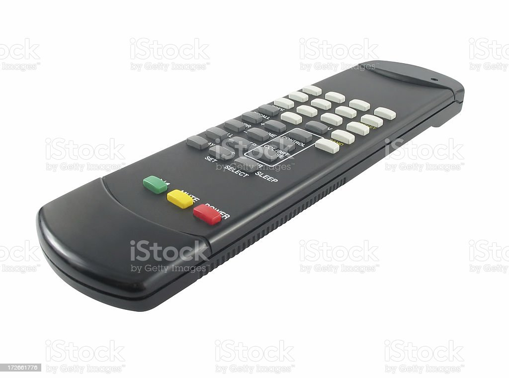 remote control - isolated royalty-free stock photo