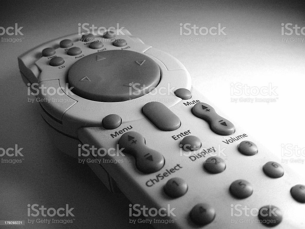 PC remote control stock photo