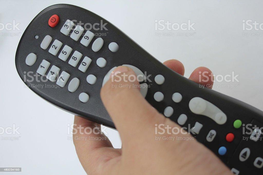 Télécommande photo libre de droits