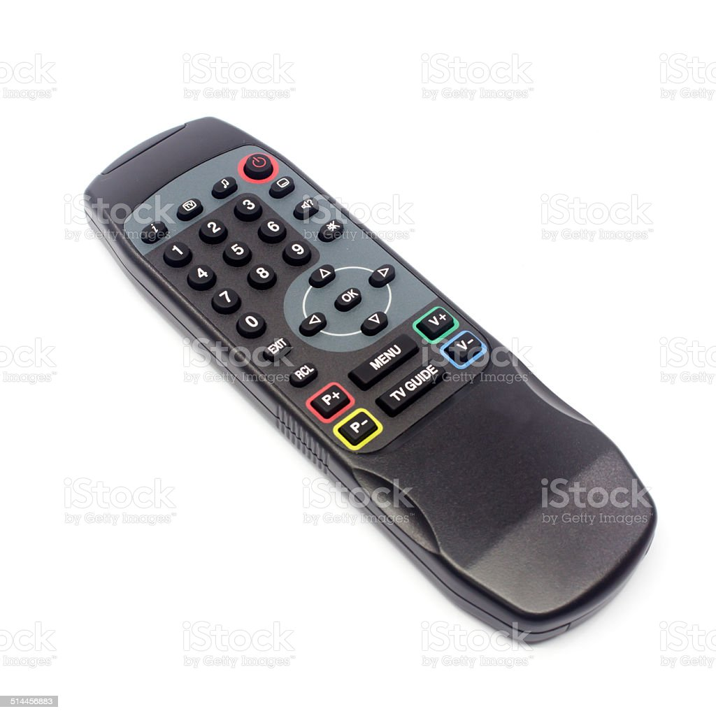 TV remote control royalty-free stock photo