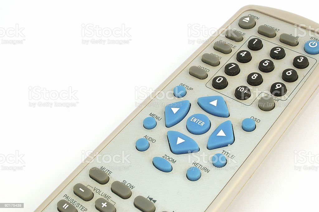 remote control #2 royalty-free stock photo