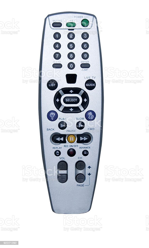 TIVO Remote Control royalty-free stock photo