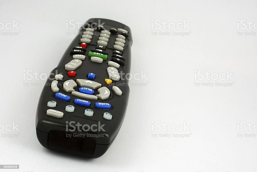 TV Remote - Great Depth of Field royalty-free stock photo