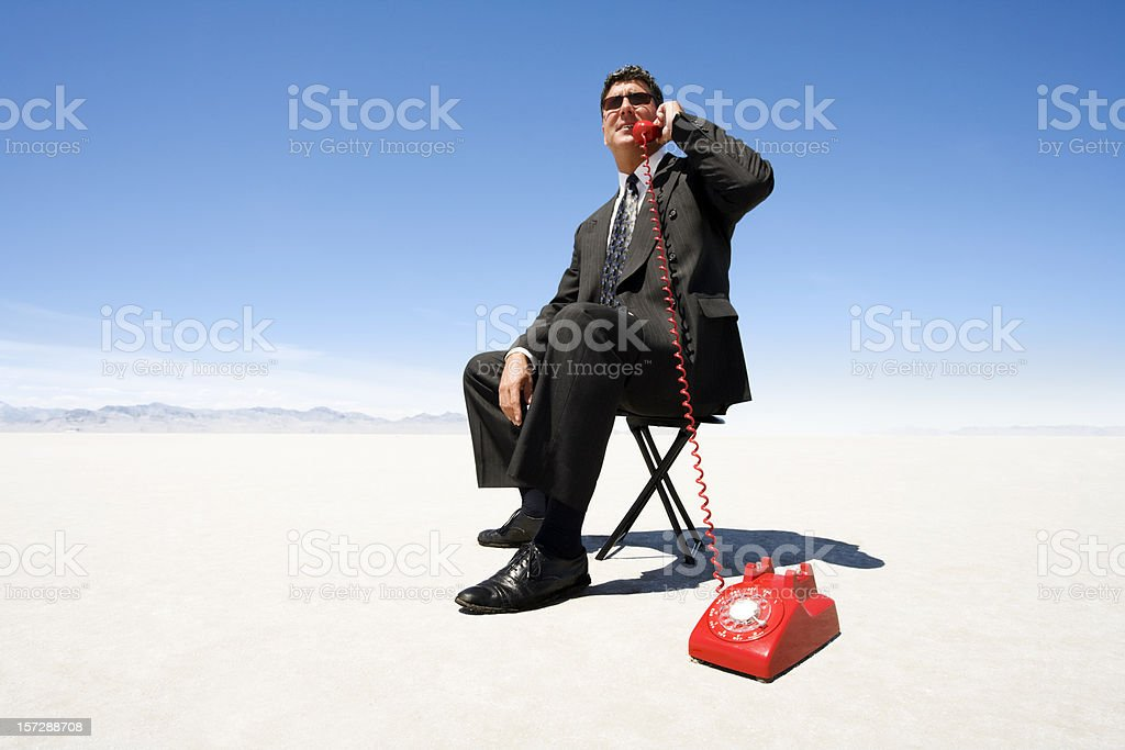 Remote Office royalty-free stock photo