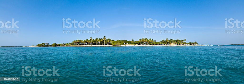 Remote  Tropical Island royalty-free stock photo