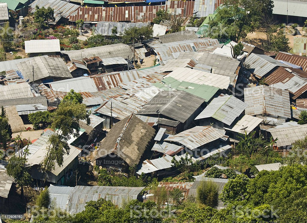 Remote Village in Thailand royalty-free stock photo
