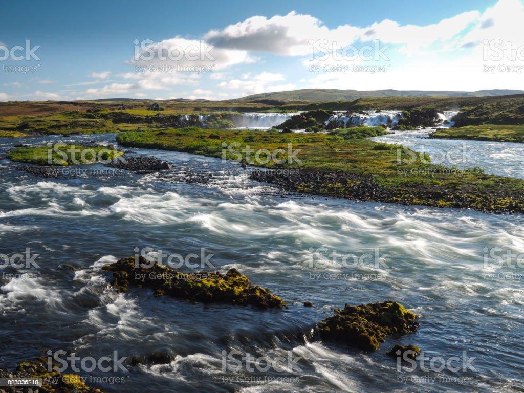 Remote Waterfall stock photo