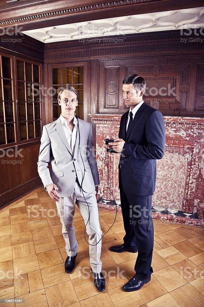 remote-controlled business man royalty-free stock photo
