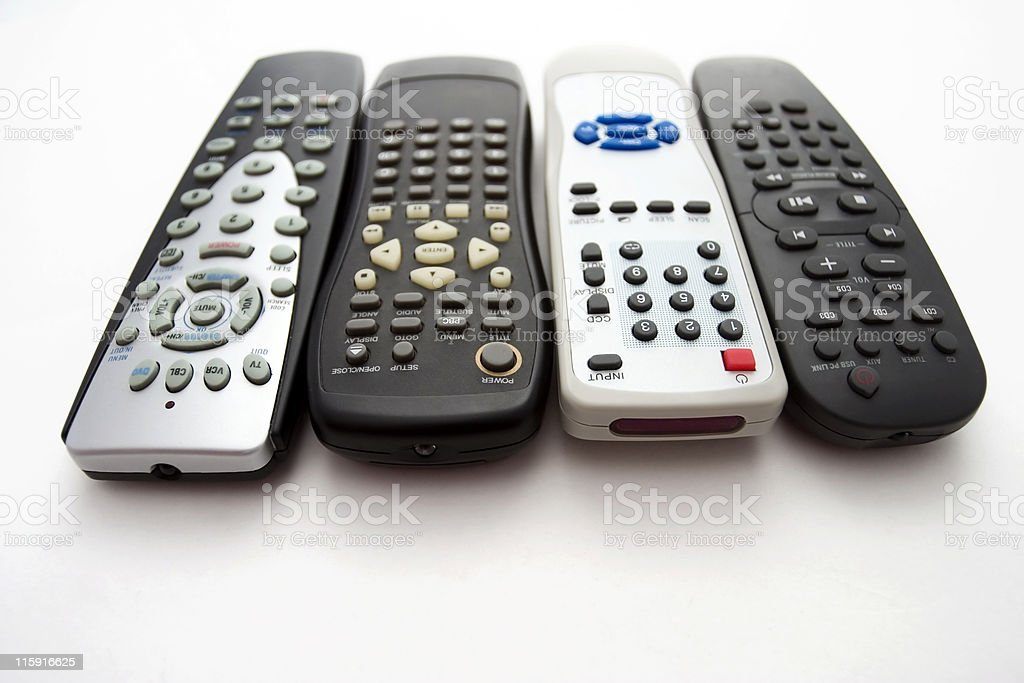 Remotes royalty-free stock photo