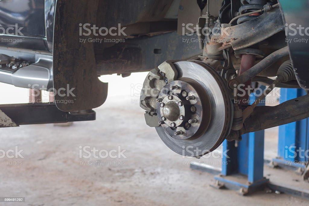 Remove the wheels stock photo