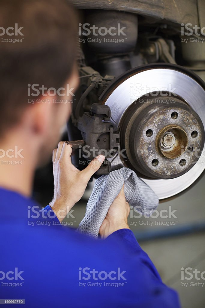 Removing all obstructions stock photo