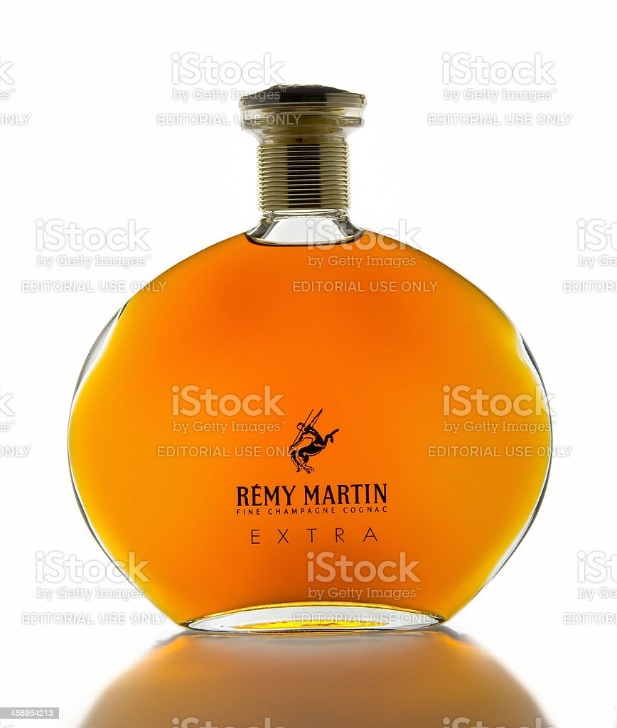 Remy Martin Fine Champagne Cognac Extra stock photo