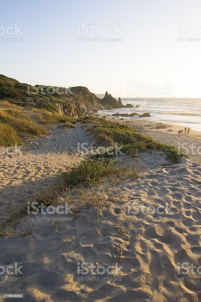 Rena Majore - Beach, Sardinia,  Italy stock photo