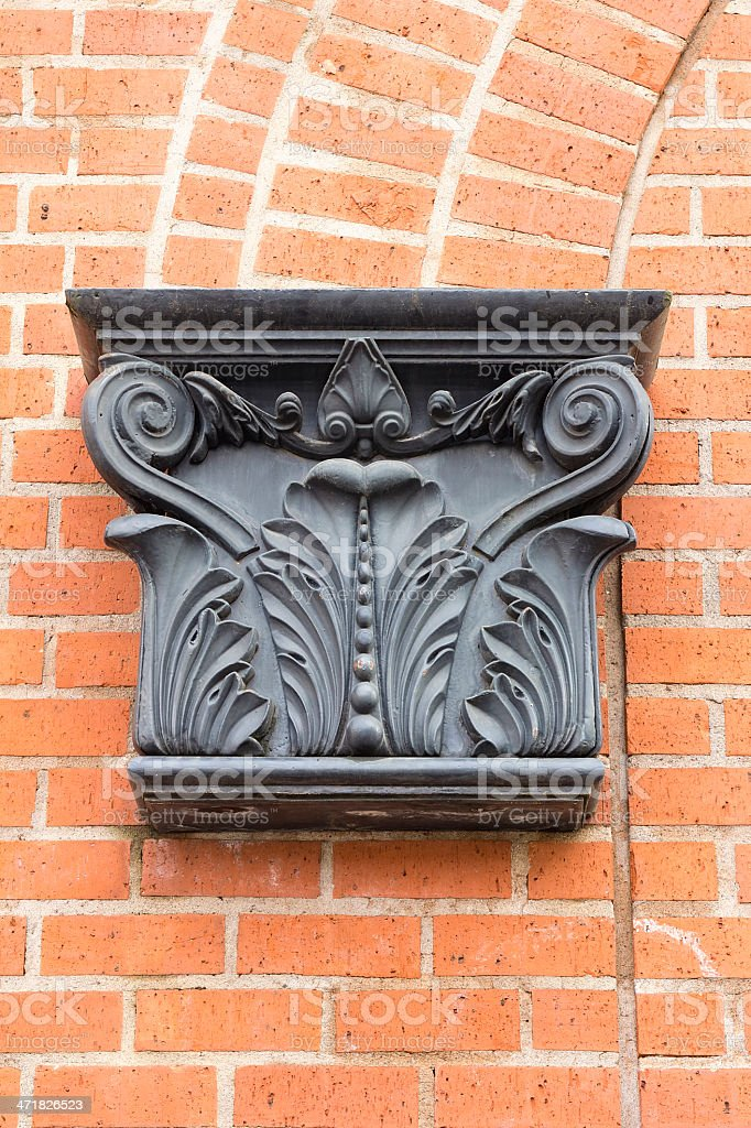 Renaissance Architectural Detail royalty-free stock photo