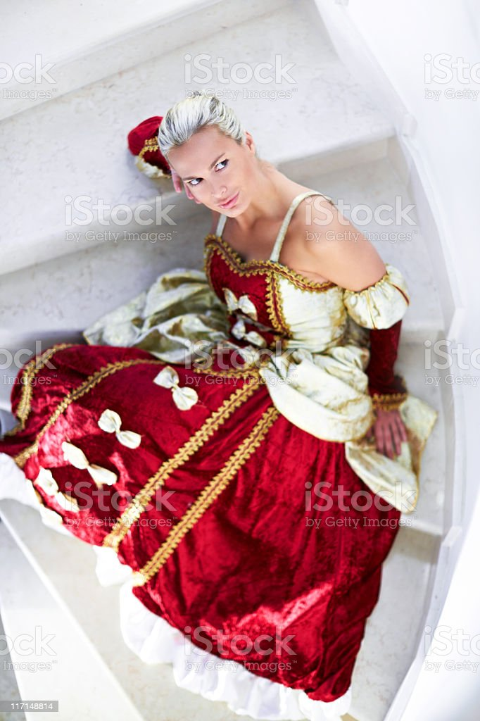 Renaissance Beauty stock photo