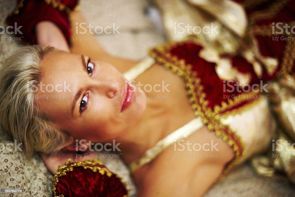 Renaissance Beauty royalty-free stock photo