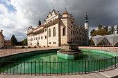 Renaissance chateau Litomyšl, Czech Republic.