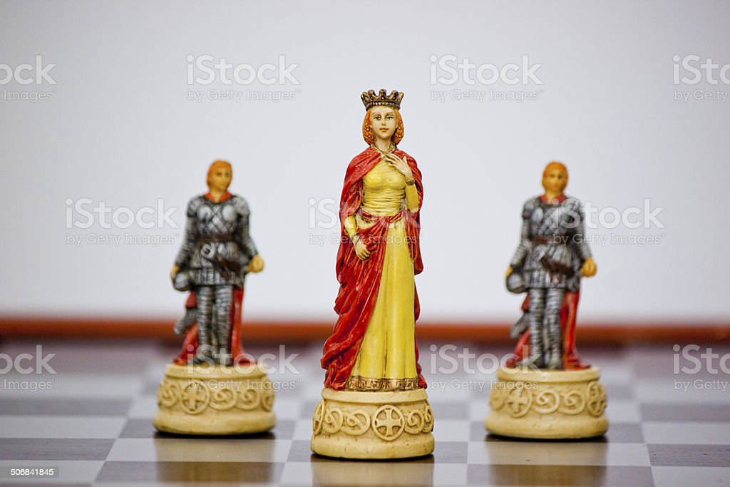 Renaissance Chess Queen royalty-free stock photo