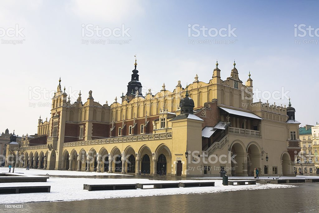 Renaissance Cloth Hall Sukiennice, Krakow royalty-free stock photo