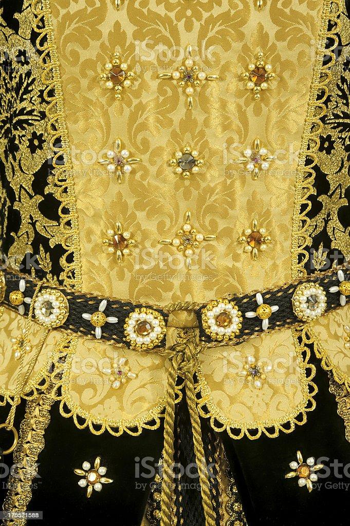 Renaissance Dress stock photo