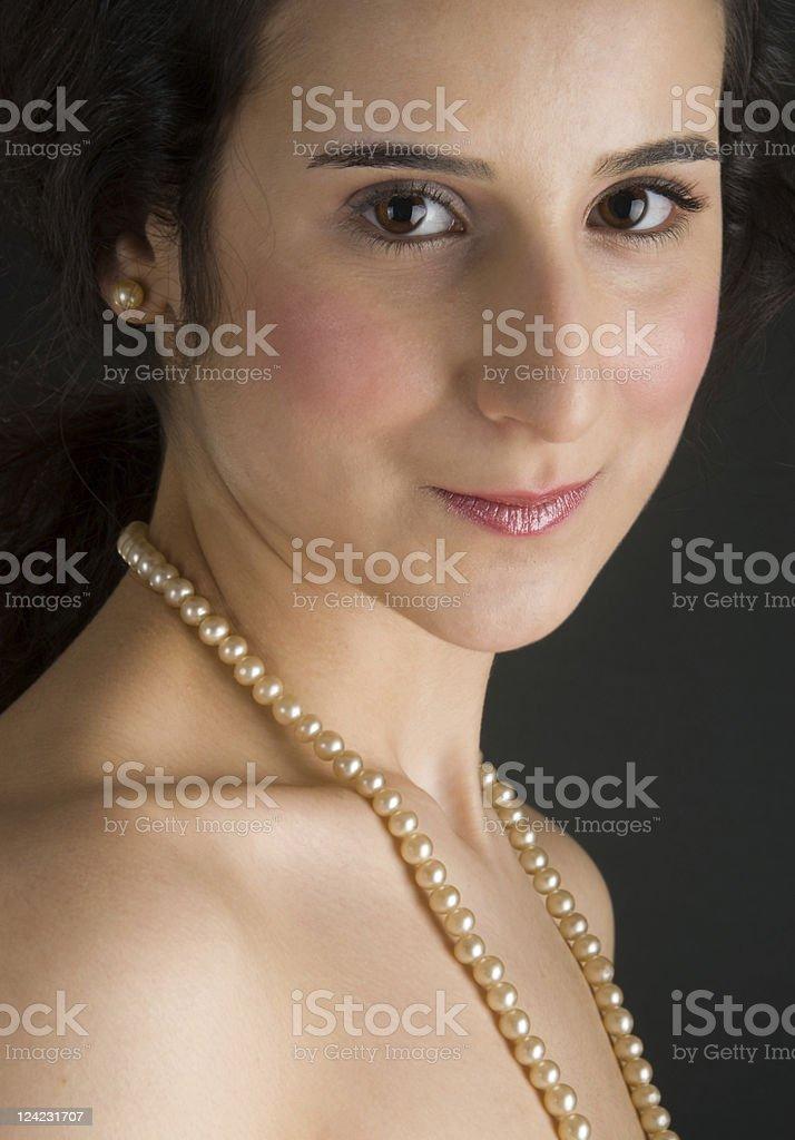Renaissance Portrait stock photo