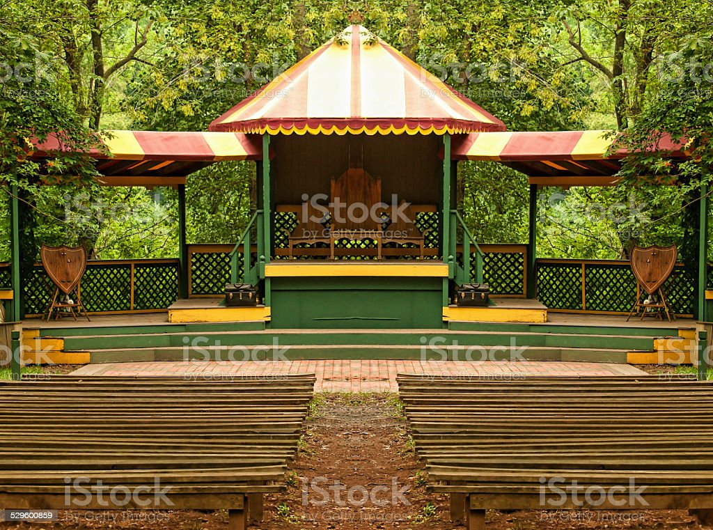 renaissance stage stock photo