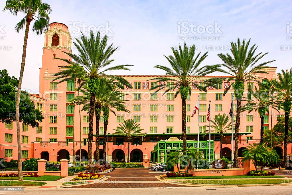 Renaissance Vinoy Resort & Golf Club in St. Petersburg, Florida stock photo