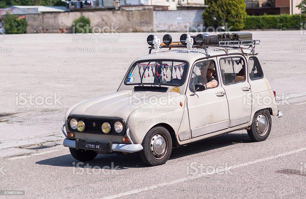 Renault 4 stock photo