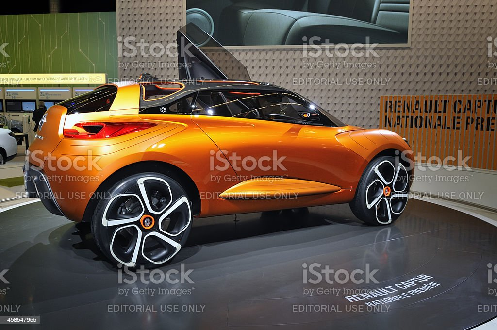 Renault Captur concept car rear view royalty-free stock photo