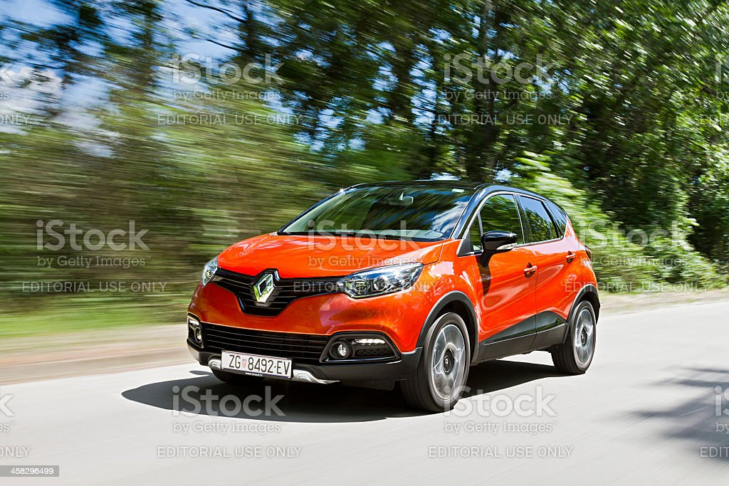Renault Captur stock photo