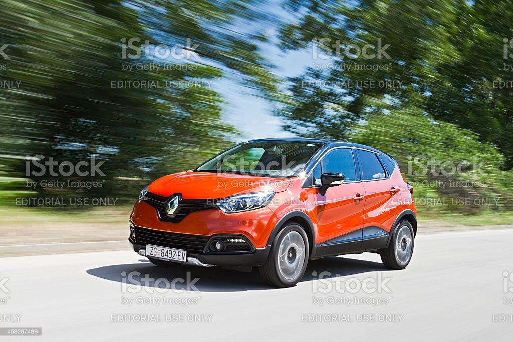 Renault Captur royalty-free stock photo