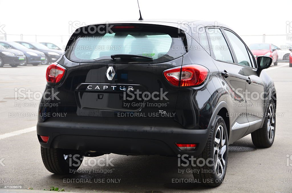 Renault Captur royalty-free stock photo