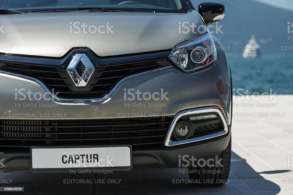 Renault Captur SUV stock photo