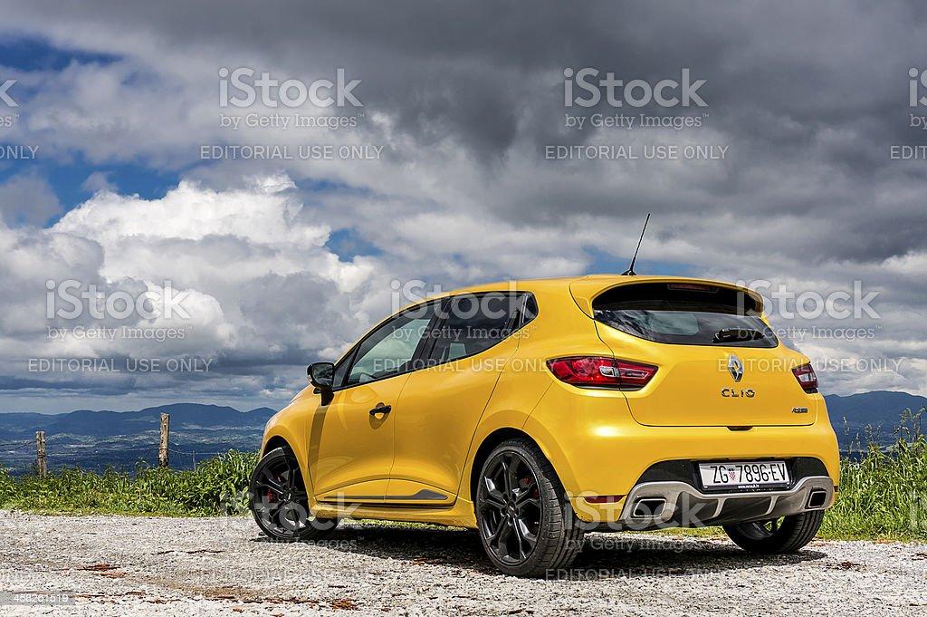 Renault Clio R.S. 200 turbo EDC stock photo