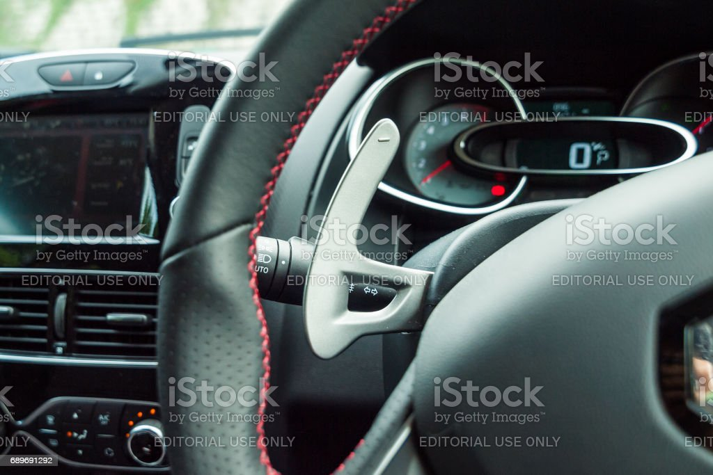 Renault CLIO RS 2017 Gear Box Shift stock photo