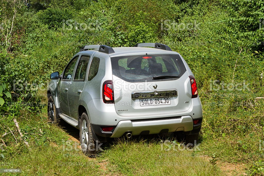 Renault Duster 4x4 AT stock photo