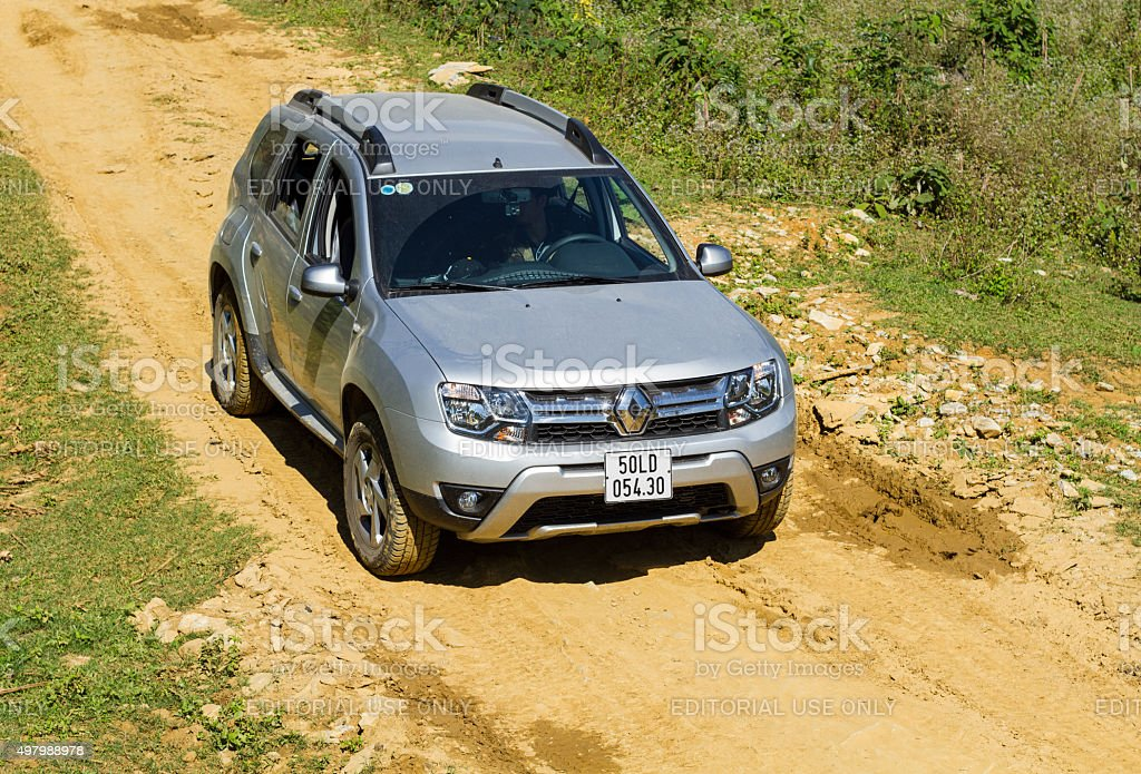Renault Duster car stock photo