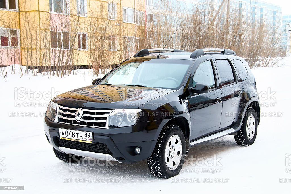 Renault Duster stock photo